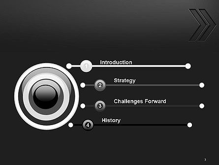 Right Direction Concept Abstract PowerPoint Template, Slide 3, 14309, Business Concepts — PoweredTemplate.com