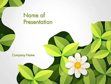 Green gear shape with flower powerpoint template backgrounds green gear shape with flower powerpoint template 14312 nature environment poweredtemplate pronofoot35fo Images