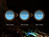 Glowing Burst of Energy Abstract PowerPoint Template#5
