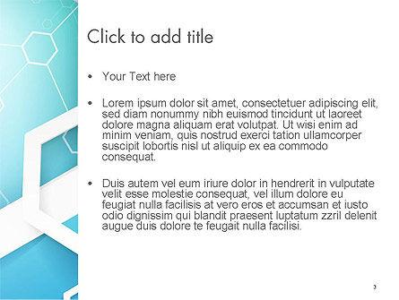 Abstract Hexagon Network PowerPoint Template, Slide 3, 14315, Abstract/Textures — PoweredTemplate.com