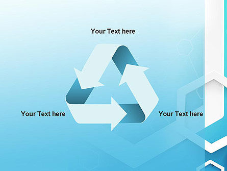 Abstract Hexagon Network PowerPoint Template Slide 10
