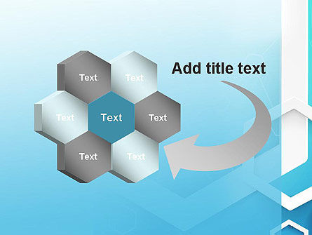 Abstract Hexagon Network PowerPoint Template Slide 11