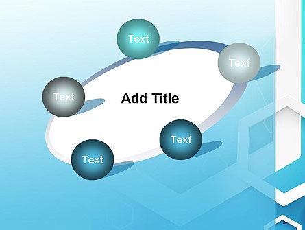 Abstract Hexagon Network PowerPoint Template Slide 14