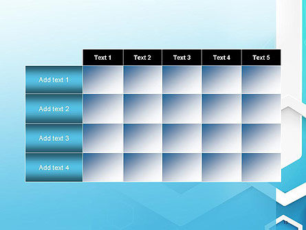 Abstract Hexagon Network PowerPoint Template Slide 15