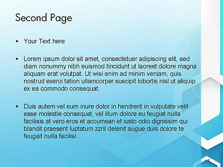 Abstract Hexagon Network PowerPoint Template Slide 2