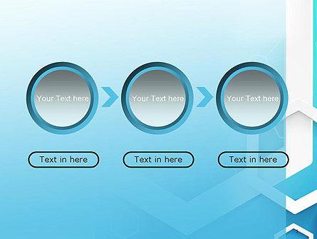 Abstract Hexagon Network PowerPoint Template Slide 5