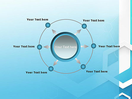 Abstract Hexagon Network PowerPoint Template Slide 7