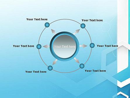 Abstract Hexagon Network PowerPoint Template Slide 7