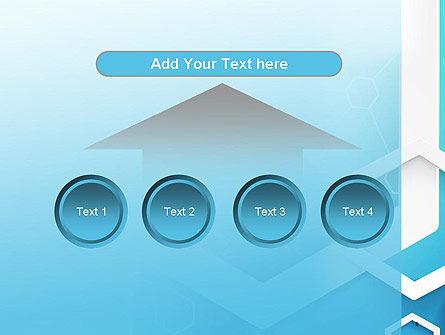 Abstract Hexagon Network PowerPoint Template Slide 8