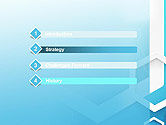 Abstract Hexagon Network PowerPoint Template#3
