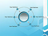 Abstract Hexagon Network PowerPoint Template#7