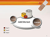 Eraser and Pencil PowerPoint Template#16