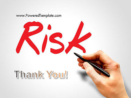 Hand Writing Risk PowerPoint Template Slide 20