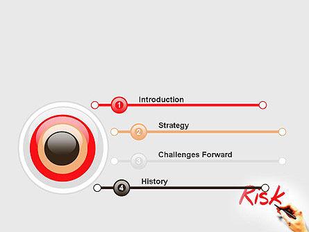 Hand Writing Risk PowerPoint Template, Slide 3, 14317, Business Concepts — PoweredTemplate.com