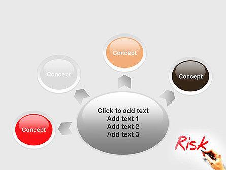 Hand Writing Risk PowerPoint Template Slide 7