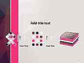Polygonal Surface Abstract PowerPoint Template#9