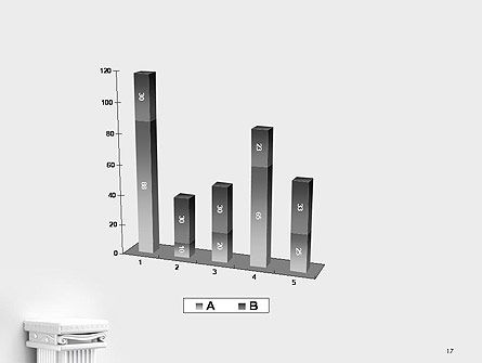 Antique Podium for Exhibit PowerPoint Template Slide 17