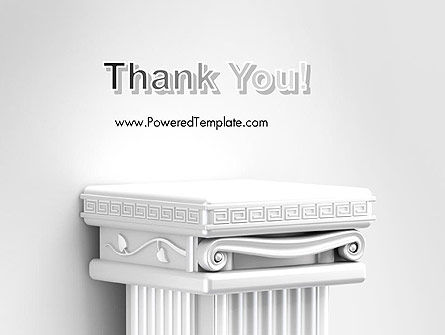 Antique Podium for Exhibit PowerPoint Template Slide 20