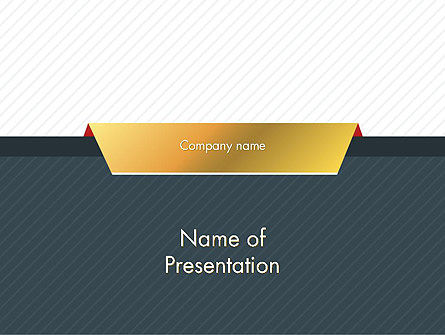 Business Style Abstract PowerPoint Template