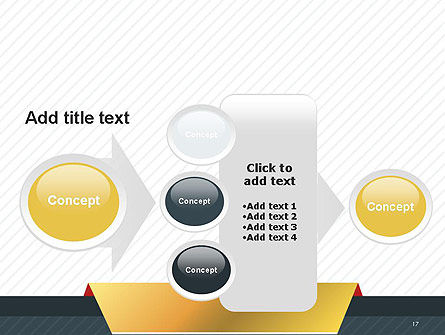 Business Style Abstract PowerPoint Template Slide 17