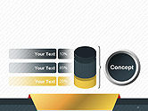 Business Style Abstract PowerPoint Template#11