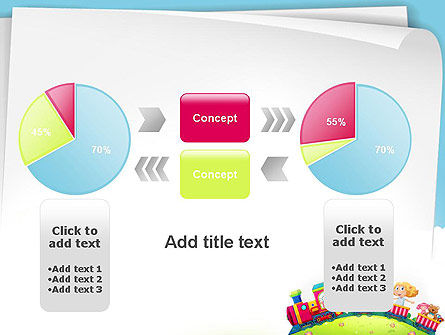Children on the Train Illustration PowerPoint Template Slide 16