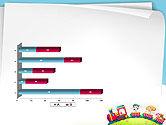 Children on the Train Illustration PowerPoint Template#11