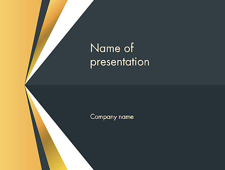 Abstract Triangle Shapes PowerPoint Template