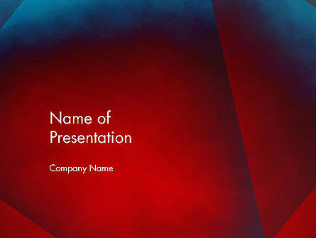 Dark Red Layered Background Abstract PowerPoint Template