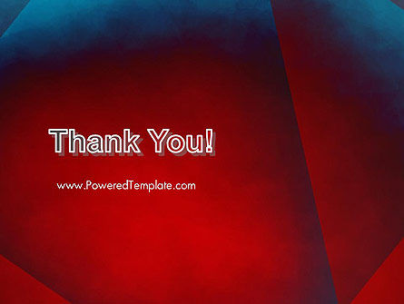 Dark Red Layered Background Abstract PowerPoint Template Slide 20