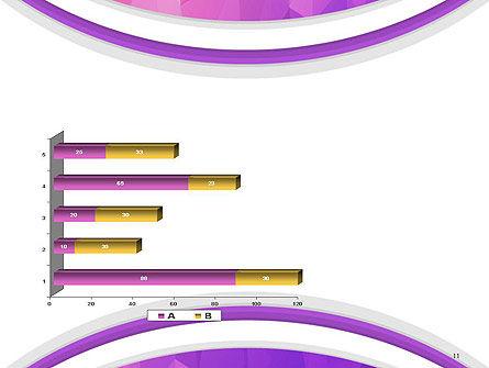 Purple Polygonal Mosaic PowerPoint Template Slide 11