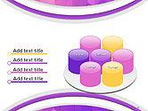 Purple Polygonal Mosaic PowerPoint Template#12