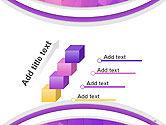 Purple Polygonal Mosaic PowerPoint Template#14