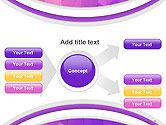 Purple Polygonal Mosaic PowerPoint Template#15