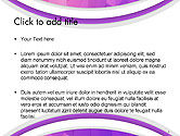 Purple Polygonal Mosaic PowerPoint Template#2