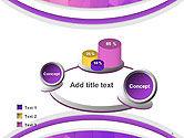 Purple Polygonal Mosaic PowerPoint Template#6