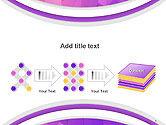 Purple Polygonal Mosaic PowerPoint Template#9