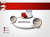 Human Hands with Numbers PowerPoint Template#16