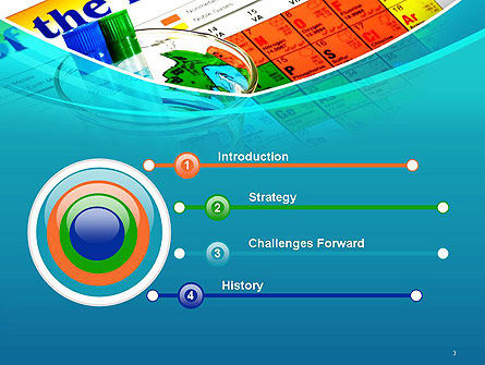 Chemistry Class PowerPoint Template, Slide 3, 14345, Education & Training — PoweredTemplate.com