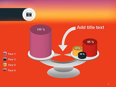 Photo Camera Icon PowerPoint Template Slide 10