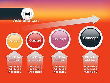 Photo Camera Icon PowerPoint Template Slide 13