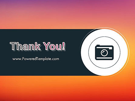 Photo Camera Icon PowerPoint Template Slide 20
