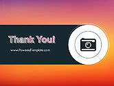 Photo Camera Icon PowerPoint Template#20