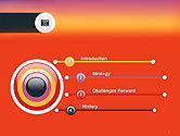 Photo Camera Icon PowerPoint Template#3