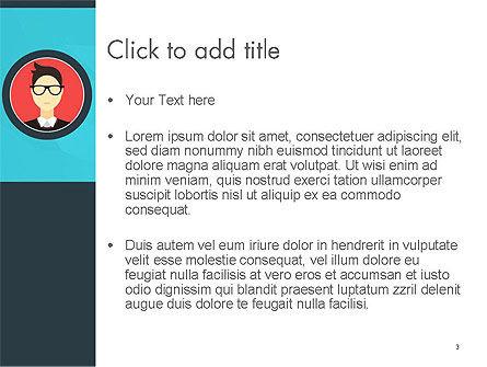 Business Card PowerPoint Template, Slide 3, 14353, Careers/Industry — PoweredTemplate.com