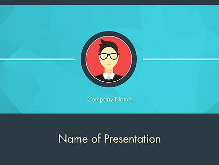 Careers/Industry: Business Card PowerPoint Template #14353