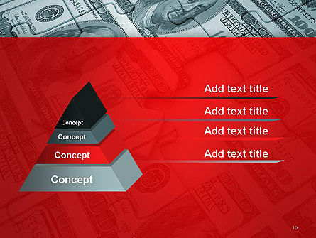 Money Puzzle PowerPoint Template Slide 10