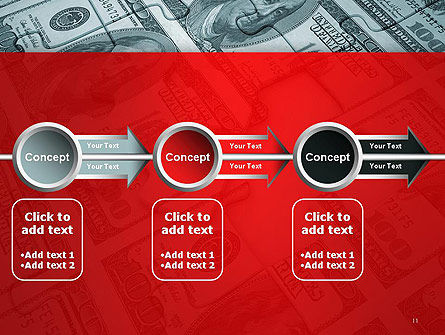 Money Puzzle PowerPoint Template Slide 11