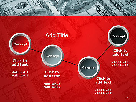Money Puzzle PowerPoint Template Slide 6