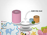 Cute Baby Shower Invitation PowerPoint Template#10
